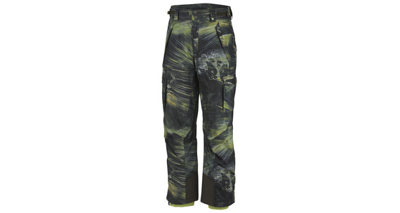 Columbia Men's Ridge Run Insulated Pant breen light speed print